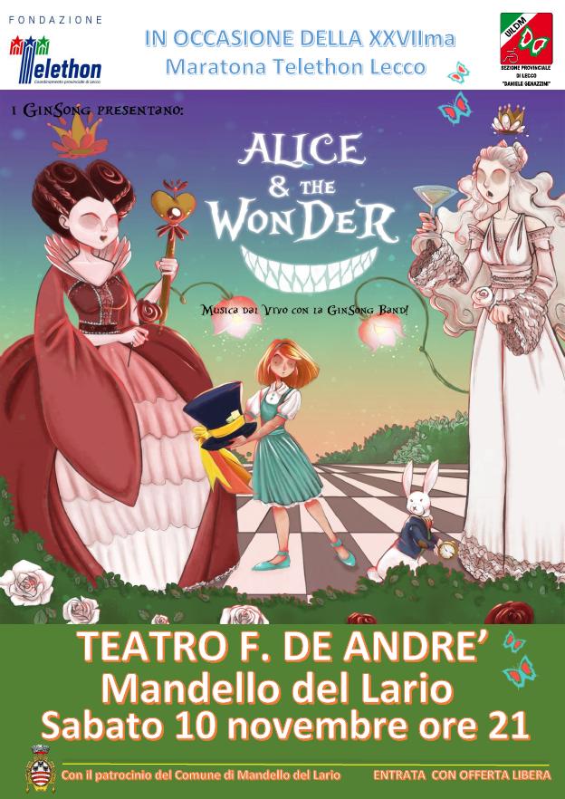 Alice & the Wonder a Mandello