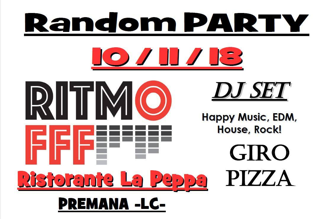 Random Party al Ristorante La Peppa