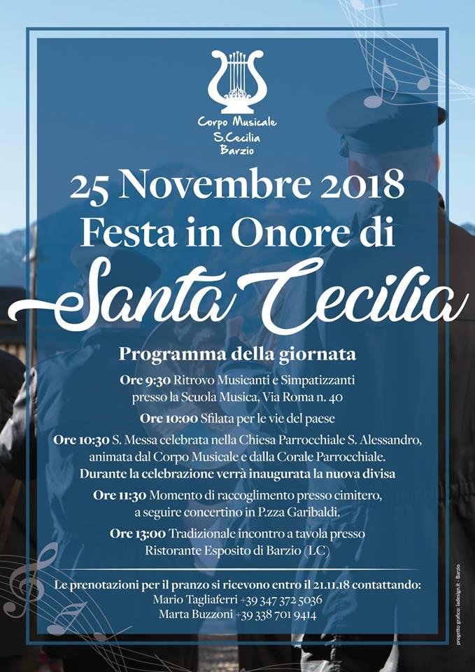 Festa di Santa Cecilia a Barzio