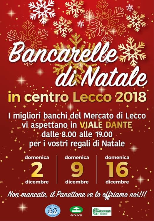 Bancarelle di Natale a Lecco