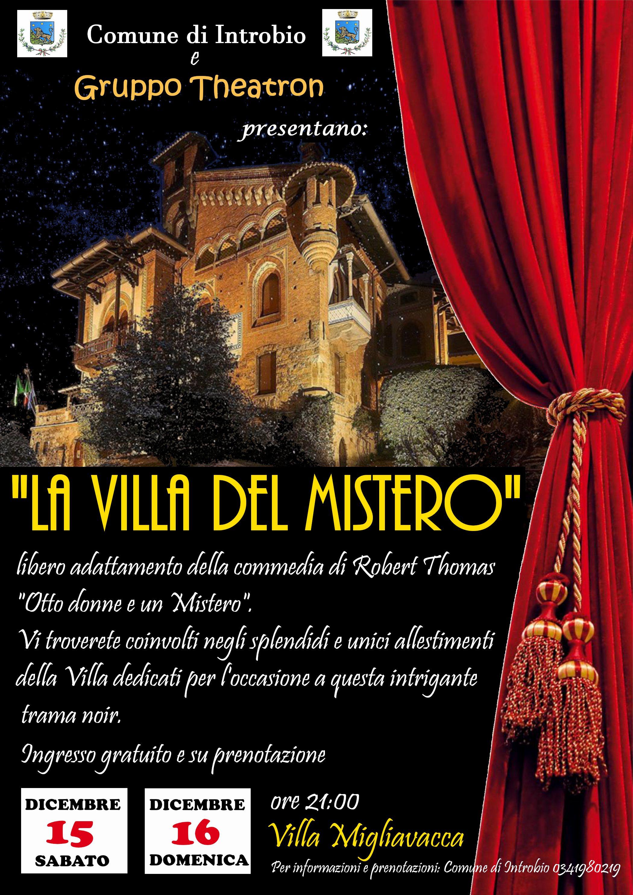La Villa del Mistero a Introbio