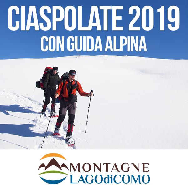 Ciaspolate sulle Montagne Lago di Como 2019