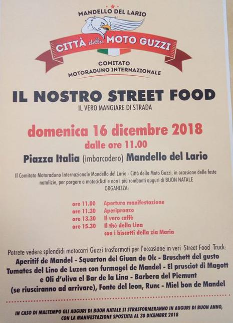 Street Food a Mandello del Lario