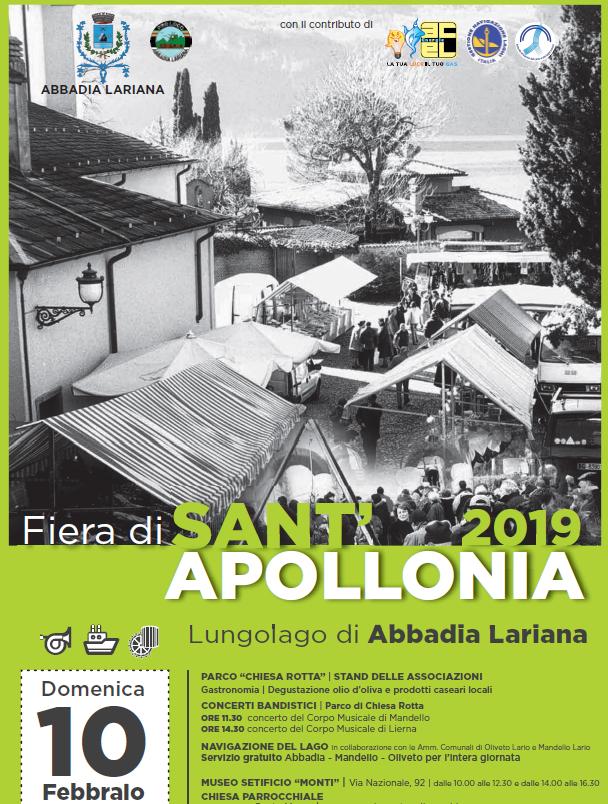 Festa Patronale di Sant'Apollonia ad Abbadia Lariana