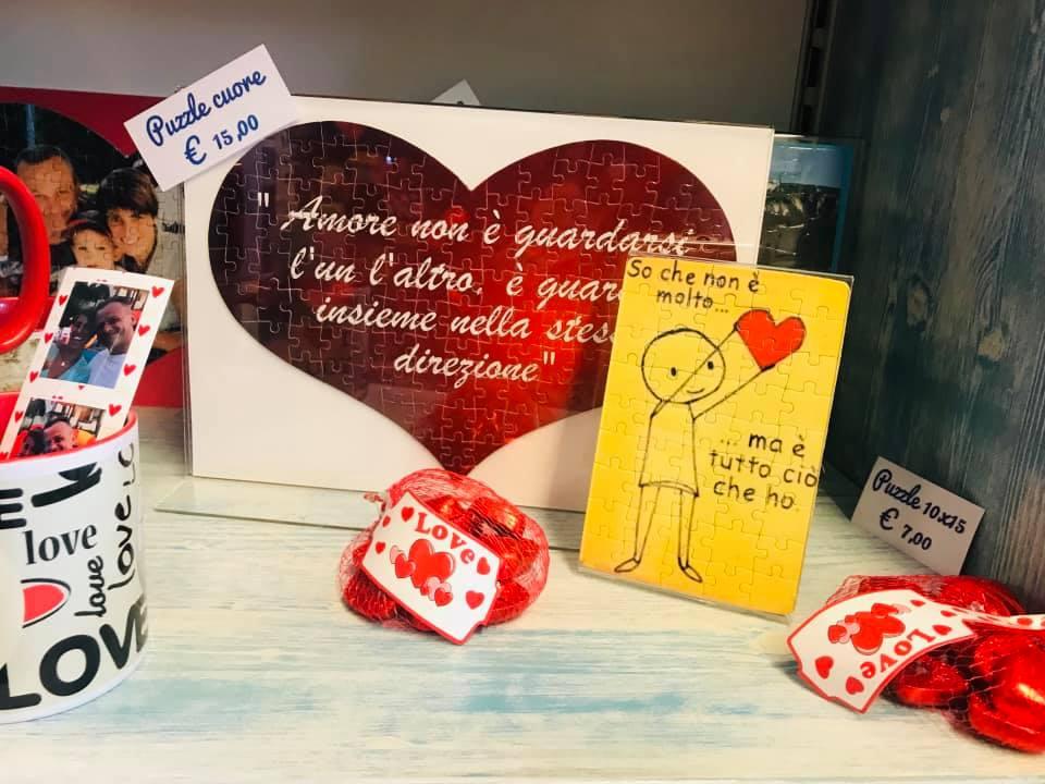 Idee regalo per San Valentino all' Edicola Creativa di Ballabio