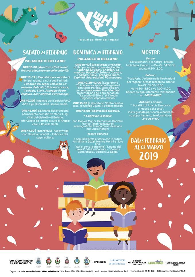 Festival libro per ragazzi a Bellano