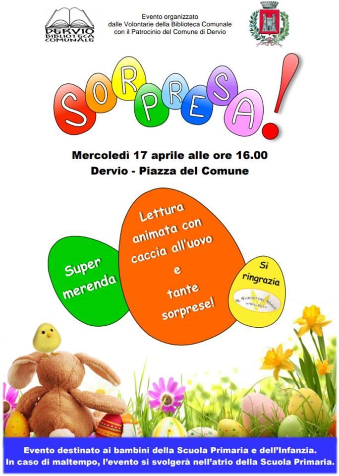 Festa di Pasqua per tutti i bambini a Dervio
