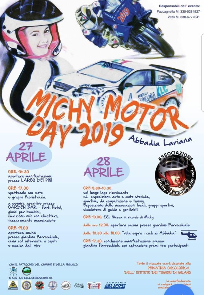 Michy Motor Day ad Abbadia Lariana