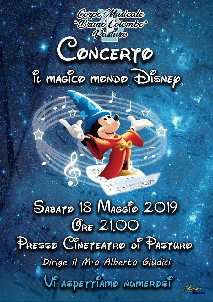 """Concerto """"Il Magico Mondo Disney"""" a Pasturo"""