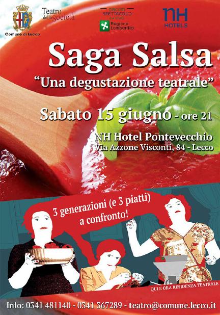 Saga Salsa – una degustazione teatrale a Lecco