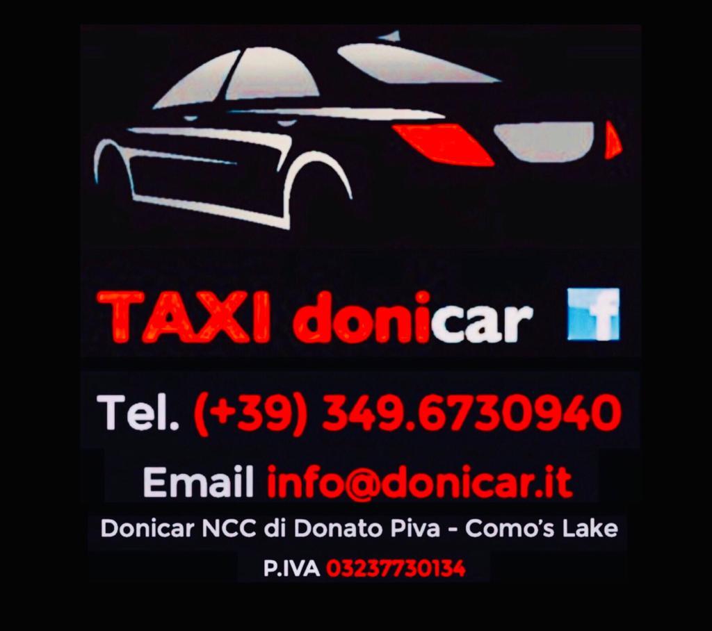 Taxi Donicar noleggio con conducente