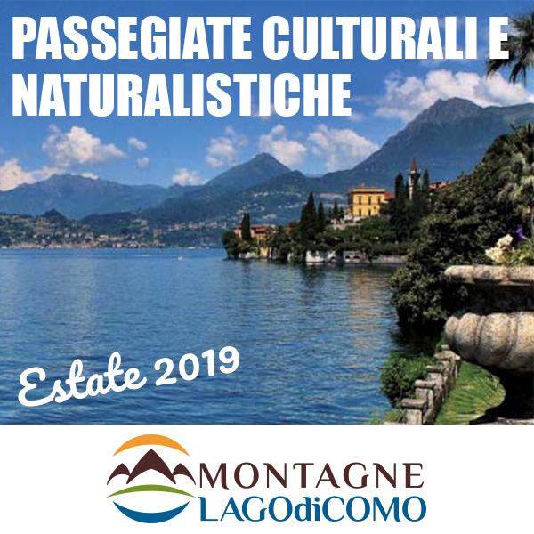 Passeggiate culturali e naturalistiche ESTATE 2019