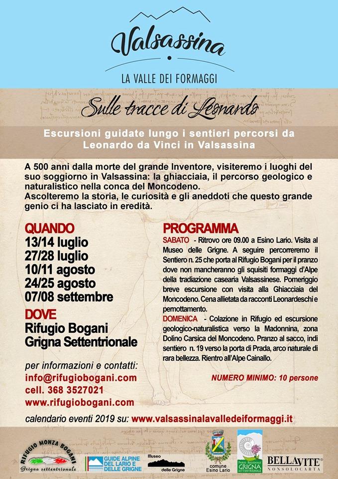 Sulle Tracce di Leonardo al Rifugio Bogani