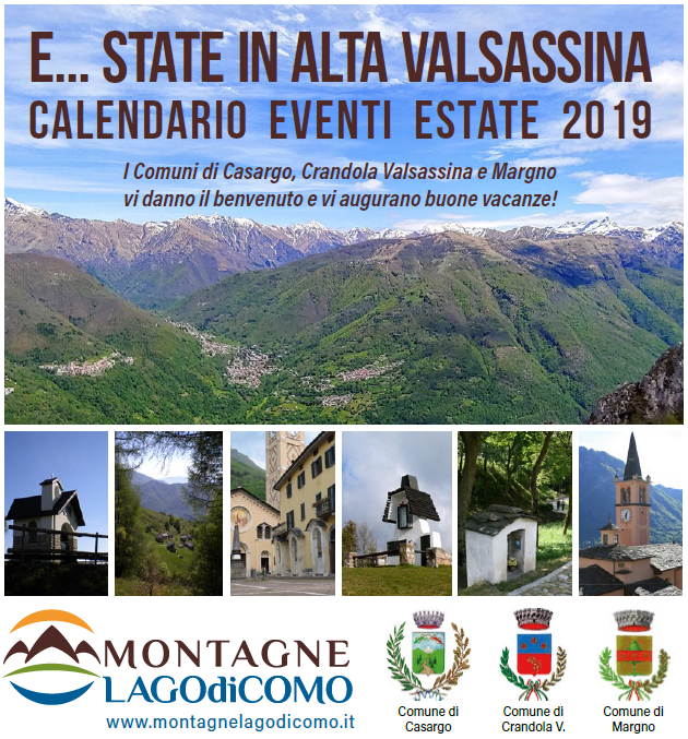 Eventi Alta Valsassina Estate 2019