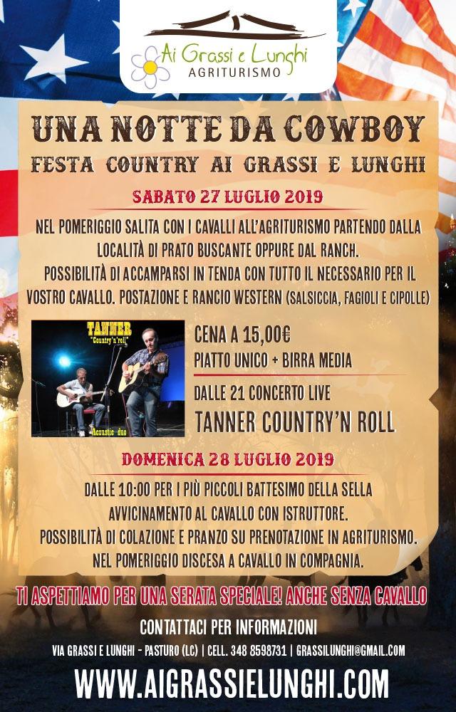 Festa country Ai Grassi e Lunghi