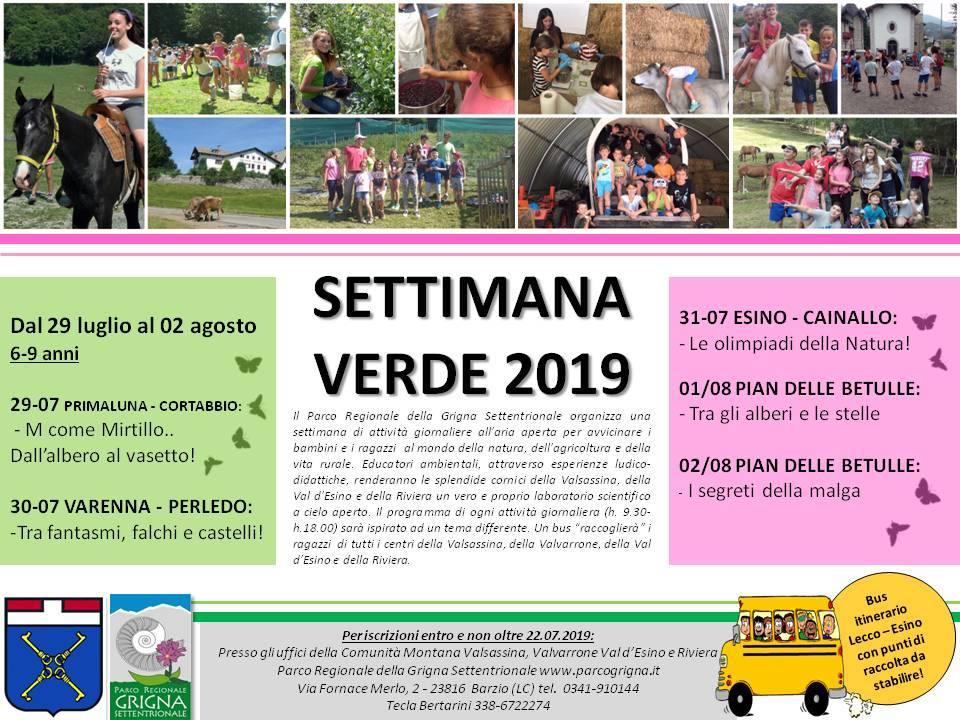 Settimana Verde 2019