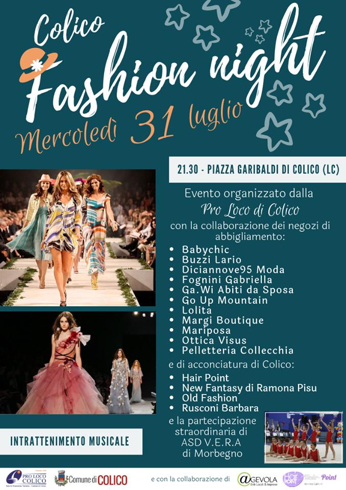 Colico Fashion Night