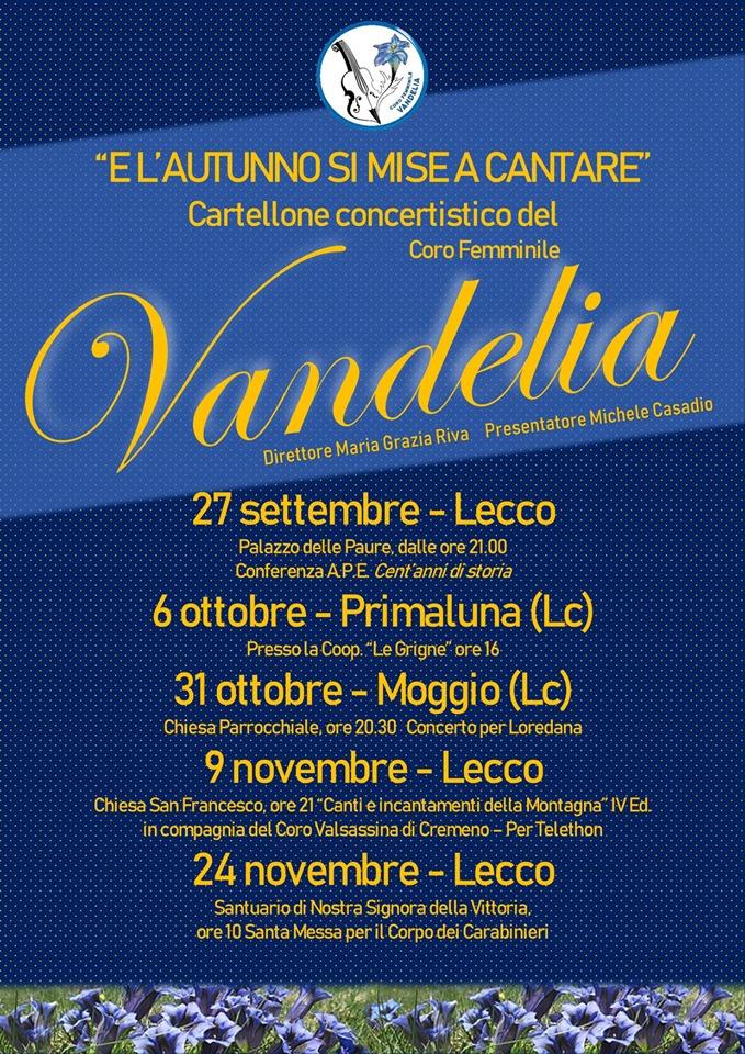 """""""E l'autunno si mise a cantare"""" Coro Femminile Vandelia"""