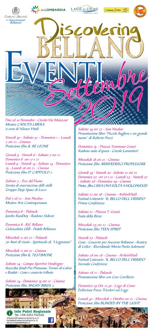 Festival letterario a Bellano