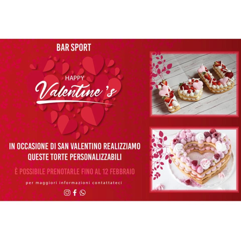 Proposta di San Valentino al Bar Sport di Casargo